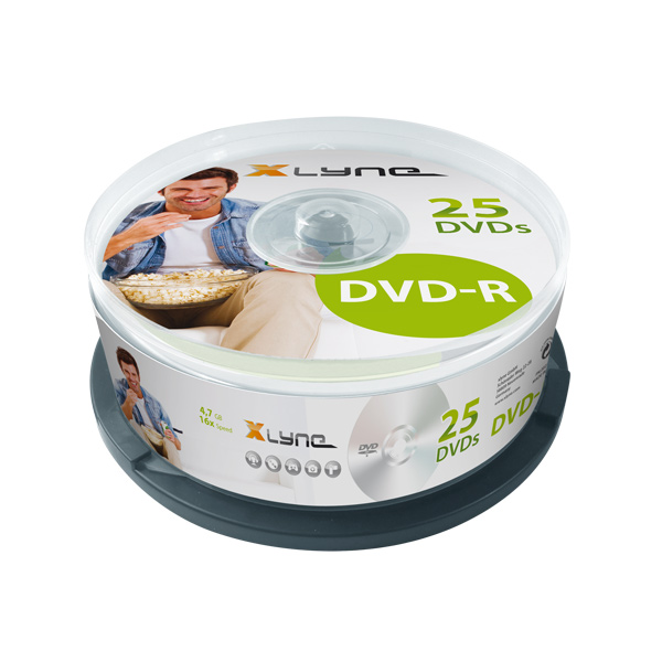 XLYNE-25er-Blue-DVD-R-Cakebox
