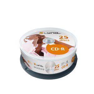 XLYNE 25er CD-R Spindel Disk Box
