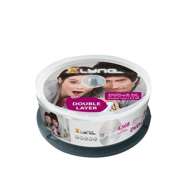 XLYNE-25er-DVD+R-DL-Cakebox