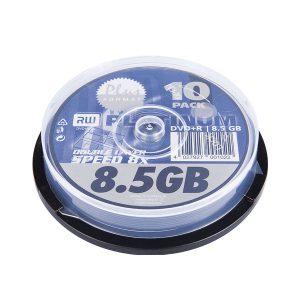 10er DVD+R-DL-Spindel von Platinum