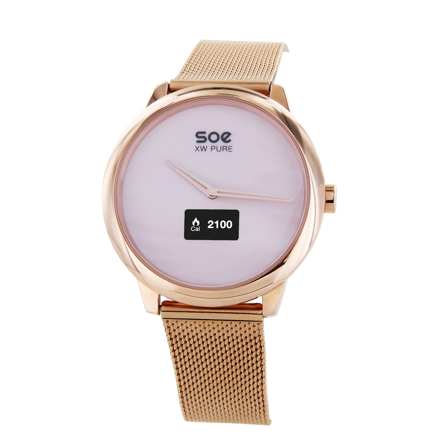 x watch soe xw pure damen quarz smartwatch. Black Bedroom Furniture Sets. Home Design Ideas