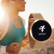 X_WATCH_SIONA_rosegold_fitness_tracker