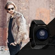 X-WATCH | NARA Dark Steel | Android und iOS Smartwatch