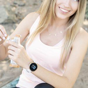 Smartwatch-Damen-silver