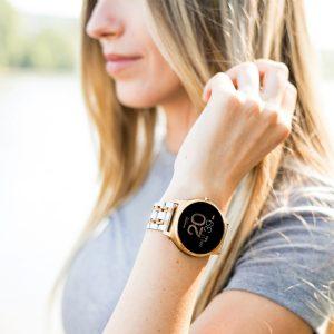 Damen Smart watch Rose