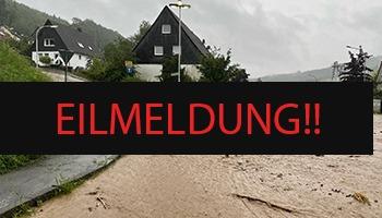 Hochwasserlage